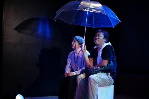雨のシーン☆