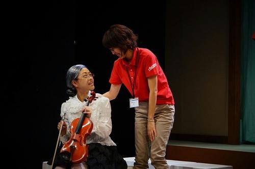 センター長とバイオリン弾き☆