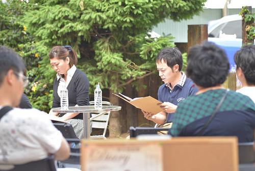 野外朗読劇「Diary」2015