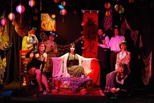 「蛇の女の傘」舞台写真